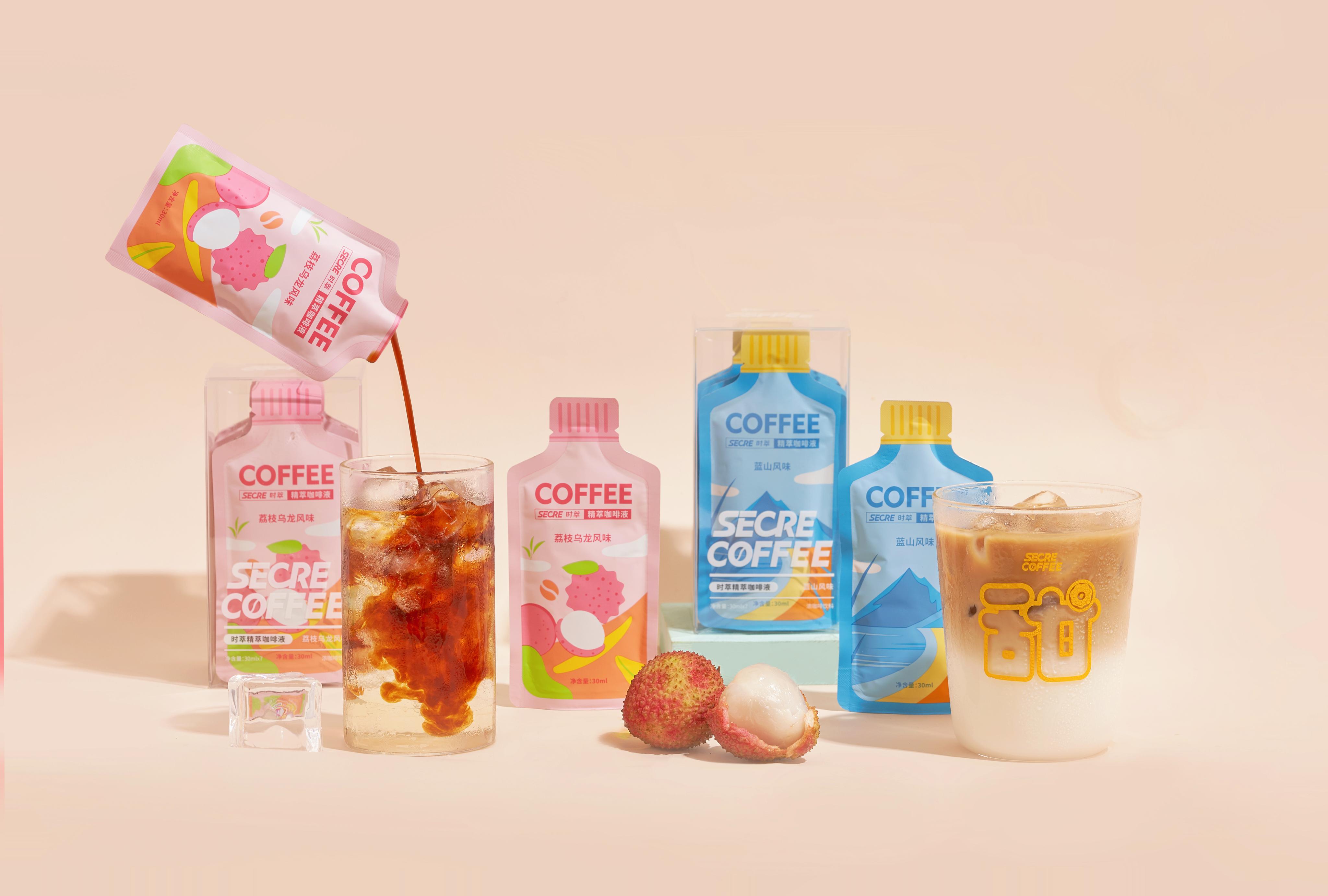 炎炎夏日遇见精萃冰咖啡 ,「时萃SECRE」常温储存咖啡液系列 产品打新